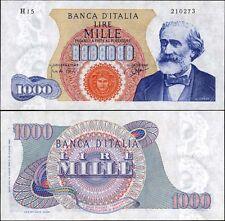 1000 Lire Verdi I tipo 14/7/1962 Carli - Ripa qFDS-FDS