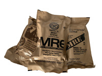 NEW MILITARY INDIVIDUAL MRE MEALS READY TO EAT (YOU PICK THE MEAL) Buy 3 Get 1