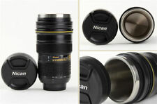 Nikon Camera Lens Mug Cup Tea Coffe Thermo with Lid Travel Great Thermos Black