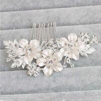 bridal peigne extrait de mariage le cristal d'épingles à cheveux en strass