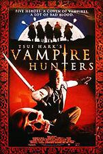 TSUI HARK'S VAMPIRE HUNTERS (2003) ORIGINAL DVD MOVIE POSTER  -  ROLLED