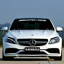 AMG Front Rear Windshield Decal Vinyl Car Stickers for Mercedes-benz Auto Window