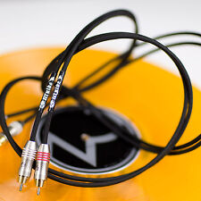 Zu Audio WYLDE 3.3ft [1.0m] Left/Right Hi-Fi Analog Audio RCA Cable Pair