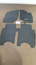 On2008 Black Tailored Floor Car Mats Carpet //Rubber Honda Jazz 2002