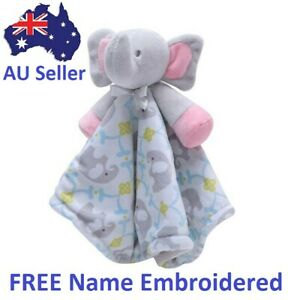 New Baby Comforter  Blankie/Blanket Gift Quality FREE name Embroidered