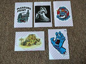 5 Levi's Jim Phillips Pleasure Point stickers