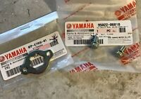 Genuine Yamaha YBR125 2005 - 2006 Front Sprocket Retainer Plate And Fixing Bolts