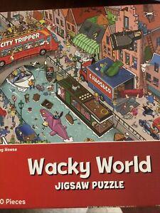 "Wacky World ""Moving House"" 1000 Pieces Jigsaw Puzzle 68cm X 48cm."