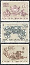 Austria 1972 vagoni/carrozze/Trasporto/Calesse veicoli/Heritage 3v n42154
