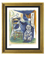 "Pablo Picasso ""Child With Doves"" Signed & Hand-Numbered Ltd Ed Print (unframed)"