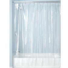 Winberg (R) PVC AC curtain Bath room curtain Transparent Curtain 4 x7 Feet ,1 pc
