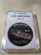 US NAVY USS AMPHION / AR-13 Challenge Coin