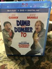 Dumb and Dumber To (Blu-ray/DVD, 2015, 2-Disc Set, Includes Digital Copy
