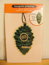 "NEW Hallmark Hangable Message Greeting ""Scented Pinecone"" Card with Envelope"