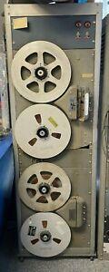 """Vintage Used Ampex Model 405 & 450 Reel to Reel Tape Recorders in 19"""" Rack Mount"""