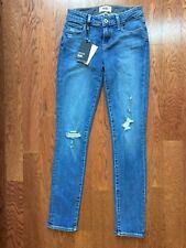PAIGE Women's Skyline Ankle Peg, Gia Destructed, Jeans 25 $229 MONIART