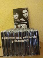 """Héroes del Silencio """"Colección Completa"""" 15 Libros /Cd's /DVD (2007 El Pais)"""