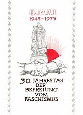 DDR-Gedenkblatt, 30 Jahrestag der Befreiung vom Faschismus