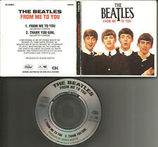 THE BEATLES From me to you /Thank MONO LIMITD 1988 USA MINI 3 INCH CD single CD3