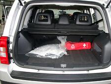 For Jeep Patriot 2011-2015 Accessories Black Rear Trunk Retractable Cargo Cover