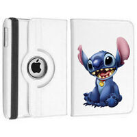 Stitch Personalised 360 Rotating Case Cover for ALL Apple iPad tablets