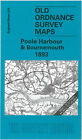 Old Ordnance Survey Map Poole Harbour & Bournemouth 1893 - England Sheet 329