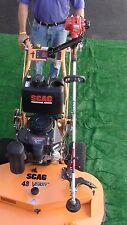 Pack'em Lockable Single Trimmer Rack, Mower Mounted PK-Mower/PK-6S2