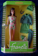 1996 FRANCIE 30th ANNIV LIMITED ED BARBIE'S COUSIN 'GAD ABOUT' DOLL MATTEL 14608