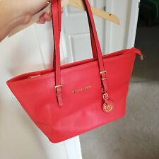 Great Coral Michael Kors Style Bag, Used!!