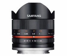 Samyang 8mm f2.8 Fisheye II Lens for Sony E - Black