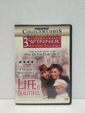 Life Is Beautiful Dvd Miramax Collector's Series Widescreen (Roberto Benigni)