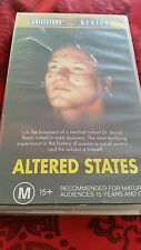 ALTERED STATES - WILLIAM HURT - VHS VIDEO