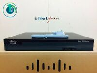 Cisco CISCO1921/K9 • 1921 Gigabit Ethernet Router 1YR WARRANTY ■SAMEDAYSHIPPING■