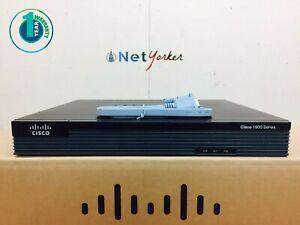 Cisco CISCO1921/K9 - 1921 Gigabit Ethernet Router - 1YR WARRANTY SAMEDAYSHIPPING