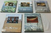 Set of 5 Lifeways Native American Books Navajo Seminole Pueblo Huron Ojibwe