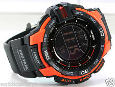 Casio ProTrek PRG270-4D Triple Sensor Version 3.0 Black Orange