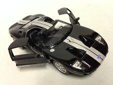 """2006 Ford GT, 5"""" Die Cast 1:36 Pull Back Action Kinsmart Toy Boys Girls  Black"""