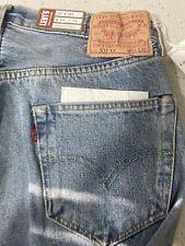Levi's Vintage Clothing LVC 501XX 1955 Selvedge Blue Denim Jeans Mens Sz 29x34