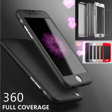 iPhone 7/ 6S Plus Hybrid 360° Tempered Glass + Acrylic Hard Case Cover For Apple