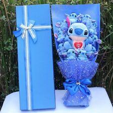 Valentine's Day Creative Bunch of 11 Lilo flower Stitch Plush Doll Toys Gift Box