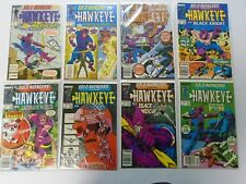 Solo Avengers Hawkeye Set:from:#1-20 all 20 different 8..0 VF (1988)