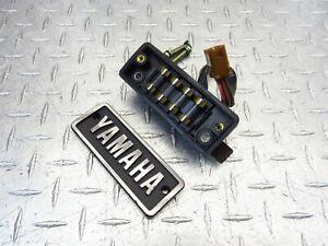 1981 81-83 Yamaha XV750 Virago OEM Fuse Box Junction Control Assembly