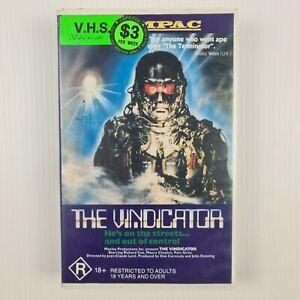 The Vindicator VHS Tape 1986 - TRACKED POSTAGE - Ex Rental