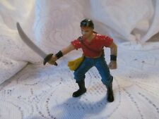 """Pirate Fantasy Action Figure 3.75"""" Early Learning Center ELC Red Head w/Sword"""