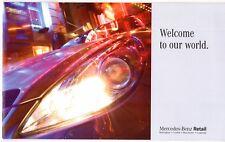 Mercedes-Benz Retail Dealers Mid 2000s UK Market Sales Brochure