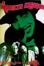 Marilyn Manson Band Alternative Metal Shock Rock Music Poster