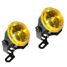Yellow 12v Fog Spot Lights Universal Car Van Pick Up Off Road