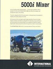 Truck Brochure - International 5000i - Cement Mixer (T1849)