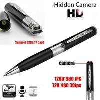 1x Camcorder Pen Mini DVR Camera/Video/Sound Recorder Hidden Cam