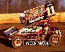 2008 Joey Saldana Budweiser Kasey Kahne Racing World Of Outlaws Sprint postcard